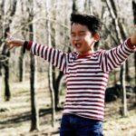 Antoine Hoang full of happiness