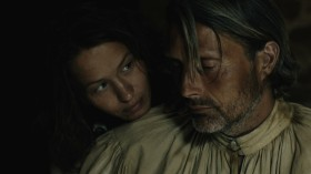 #4 Mads Mikkelsen as Michael Kohlhaas and Delphine Chuillot as Judith in Arnaud des Pallières' MICHAEL KOHLHAAS (Music Box Films).