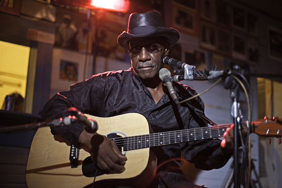 Still from I AM THE BLUES - Jimmy Duck Holmes. Photo by Gene Tomko.