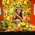 Cielo Foth, fruit expert.
