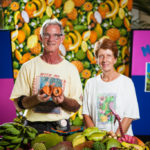 David and Jenny Burd, mamey fruit experts.