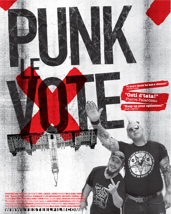 PUNK THE VOTE film poster