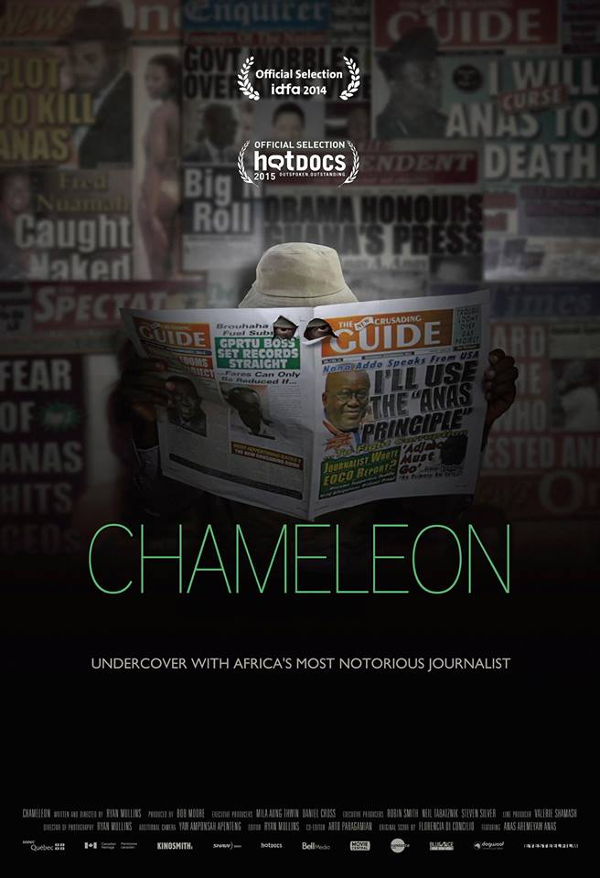 """Chameleon"" in Montreal theatres as of September 18th!"